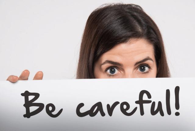 30代の女性が転職活動中に気をつけるべきこと